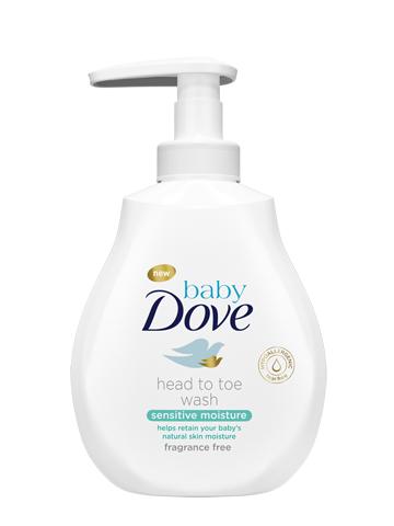 DOVE Baby Wash Sensitive