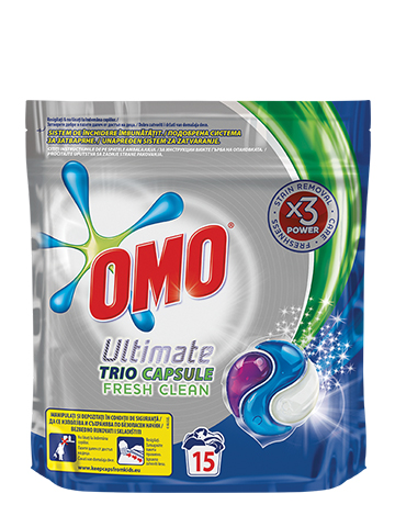 OMO Ultimate Capsuls Fresh Clean 15