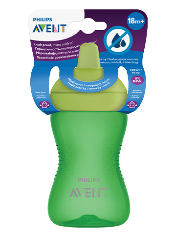 Avent_Cup_MyGrippy_Green300ml