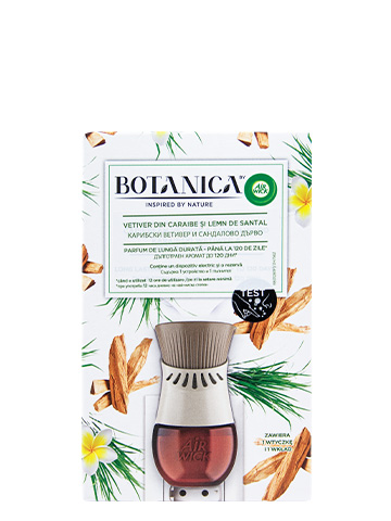Botanica Electrical kits and refills Life Scents